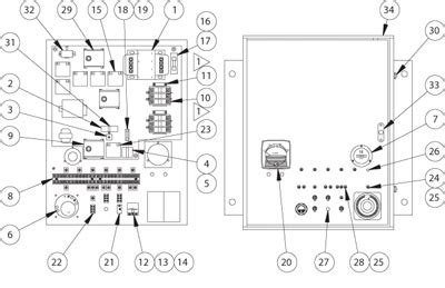 Spa Dpdt Relay Wiring Diagram by Nebraska Irrigation Parts For Lockwood Type Center Pivot