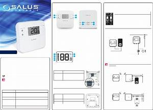 Salus Rt310tx Thermostat Manual Pdf View  Download