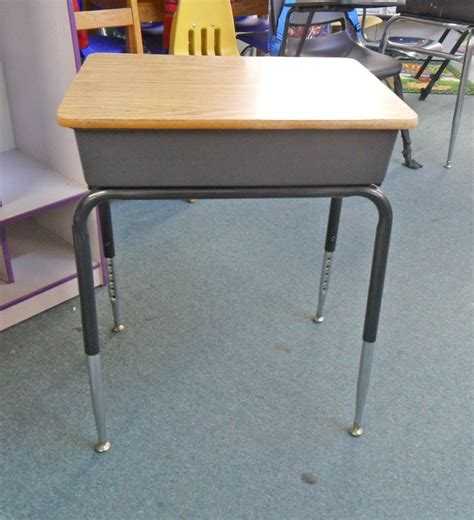 vintage school desk vintage school desk with storage cubby