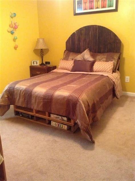 cheap pallet bed frame pallets designs