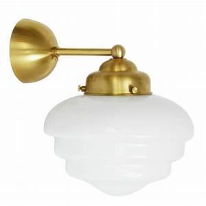 Wandleuchte Art Deco : wandleuchte mit getrepptem art d co opalglas casa lumi ~ Sanjose-hotels-ca.com Haus und Dekorationen