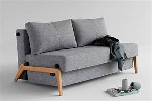 Cubed 140 wood sofa bed from innovation denmark for Cube sofa bed