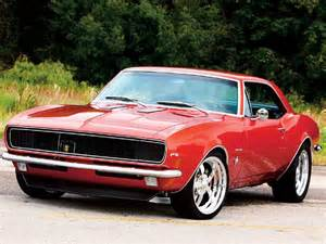 Cars Comp: 1967 Chevrolet Camaro Review Popular Muscle Car