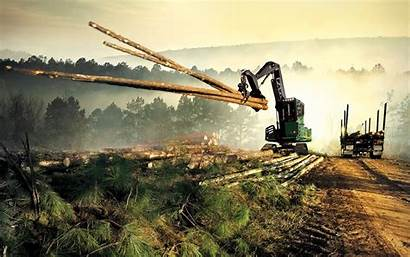 Forestry Deere John Machines Machine Swing Wallpapers