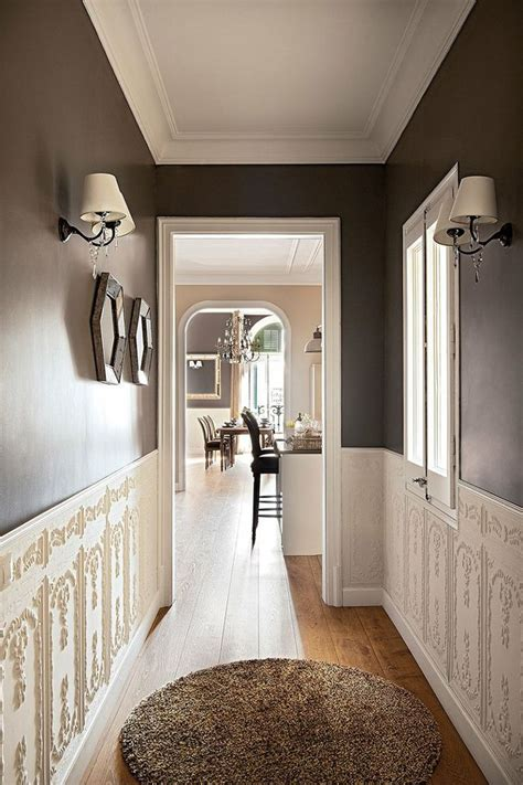 i want to paint the hallway a dark colour almost black