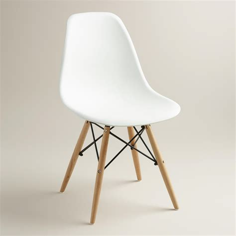 White Molded Evie Chairs, Set of 2  Room, Bedrooms and