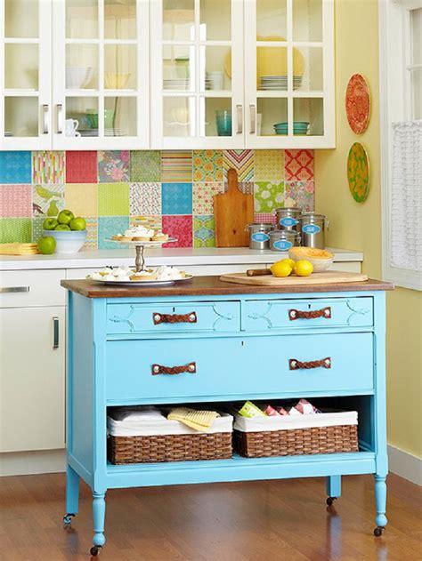 repurposed dresser kitchen island top 10 clever ways to repurpose an dresser 4770