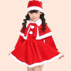 aliexpress com buy new arrival kids girls christmas sets santa claus costume fashion high