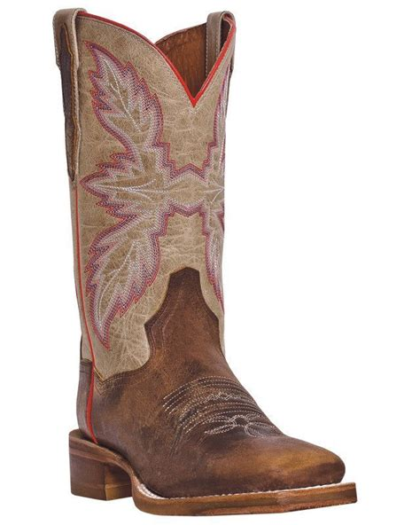 Dan Post Cowboy Certified Womens Tan All Leather Flagger