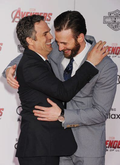 Chris Evans' brother and Mark Ruffalo react to his ...
