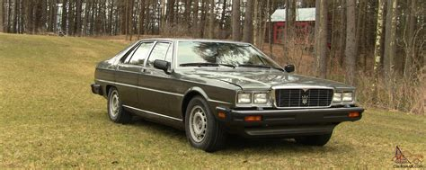 how to learn about cars 1985 maserati quattroporte lane departure warning 1985 maserati quattroporte upscale ultra excellent condition