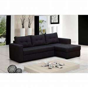 Canapé D Angle Tissu Noir : canape d angle but tissu maison design ~ Teatrodelosmanantiales.com Idées de Décoration