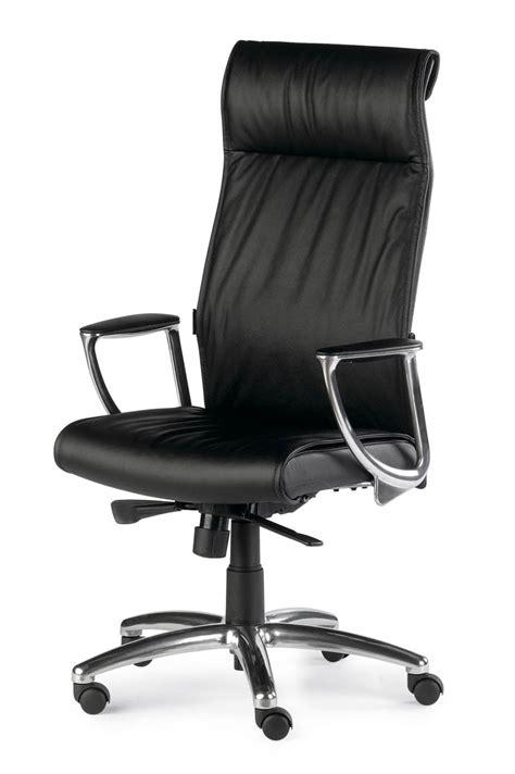 siege bureau cuir fauteuil direction cuir synchrone sete 8110s