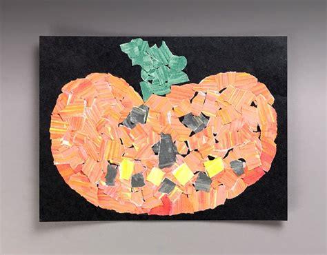 Pick A Paper Pumpkin Craft