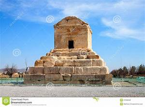 The Tomb Of Cyrus The Great Royalty Free Stock Photos ...