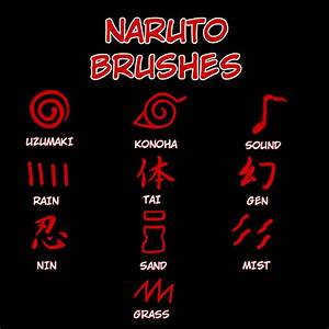 Naruto Brushes by mardukrules on DeviantArt