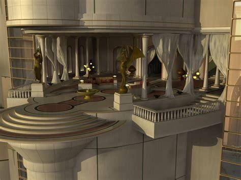 episode iii coruscant padmes verandah