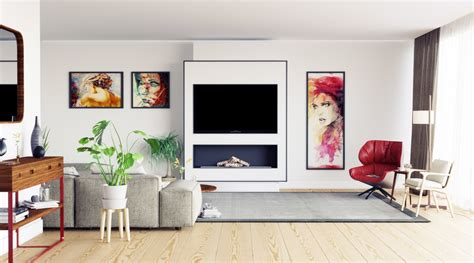 Fall living room home and living living rooms living room decor around tv tv wall decor above tv decor my new room apartment living room inspiration. 50 Ideas To Decorate The Wall You Hang Your TV On