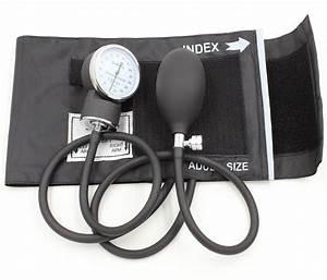 Manual Blood Pressure Monitor Bp Cuff Gauge Aneroid