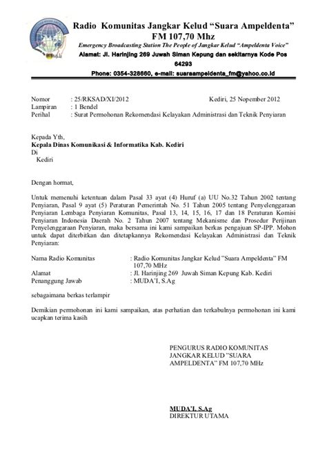 Contoh Surat Lamaran Kemenristekdikti 2017 by Formulir Pengajuan Sp Pjt04022009031059