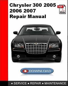 Chrysler Pacifica 2004 2005 Repair Manual