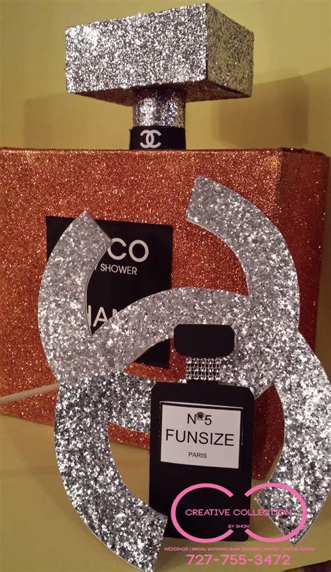 parisian perfume bottle centerpiece creative collection