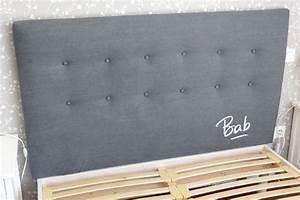 Faire Une Tête De Lit En Bois : comment fabriquer une tete de lit capitonnee digpres ~ Teatrodelosmanantiales.com Idées de Décoration