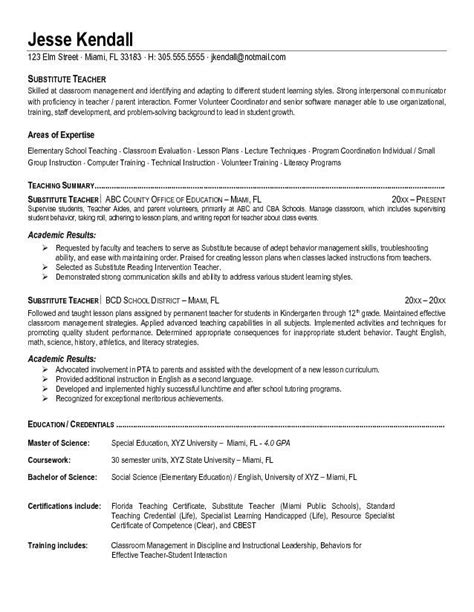 Resume For Teaching by Pin By Jobresume On Resume Career Termplate Free