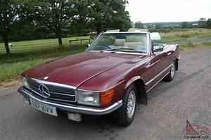 Sl Auto : 1985 mercedes 280 sl auto red ~ Gottalentnigeria.com Avis de Voitures
