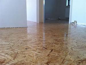 oriented strand board as our wooden floor with 3 layers With parquet osb