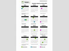 Calendario Laboral Palmas Las 2019