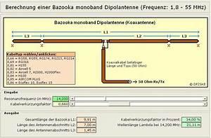 Bazooka Antenne Berechnen : dipol antenne elektronik ~ Themetempest.com Abrechnung