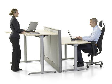 hauteur de bureau de travail table ergonomique reglable en hauteur