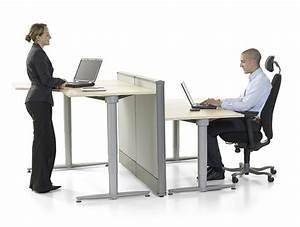 Escalier Ajustable En Hauteur : table ergonomique reglable en hauteur ~ Premium-room.com Idées de Décoration