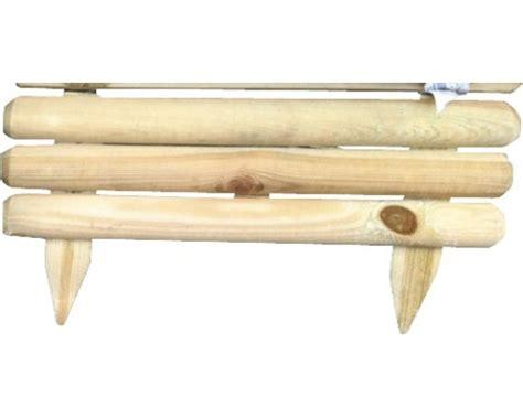 Palisaden Holz Beeteinfassung