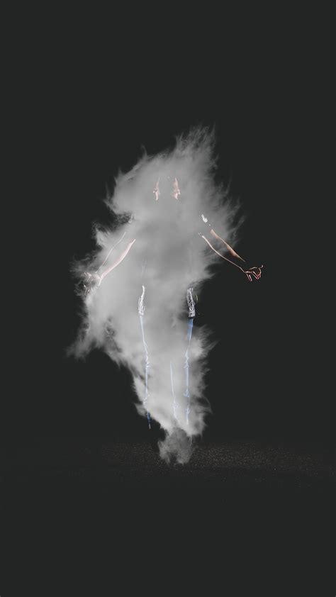 az man dark smoke illustration art wallpaper