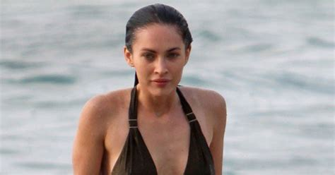 megan fox hottest bikini pictures popsugar celebrity