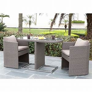 Ensemble De Jardin Pas Cher : ensemble repas bari table 2 fauteuils salon de jardin ~ Dailycaller-alerts.com Idées de Décoration