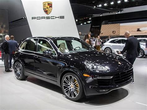 The cayenne is porsche's gravity. 2016 Porsche Cayenne Turbo S revamped - Kelley Blue Book
