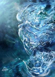 Water elemental by javi