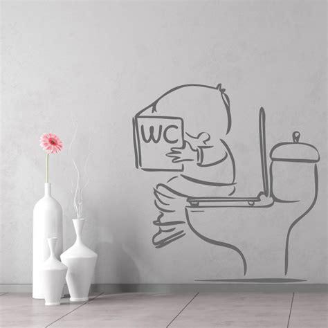 siege wc stickers muraux toilettes décorez vos wc avec humour