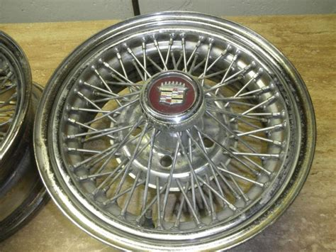 buy cadillac wire wheels  motorcycle  southfield