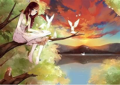 Anime Fantasy Desktop Wallpapers Backgrounds Mobile Gratis