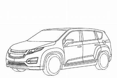Chevy Coloring Pages Mpv Chevrolet Volt Van