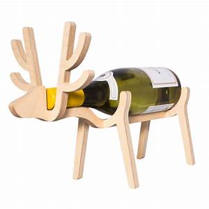 Reindeer Wine Rack IWOOT