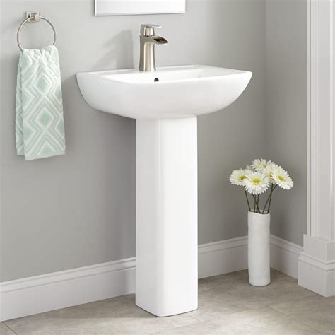 sink bathroom ideas kerr porcelain pedestal sink bathroom