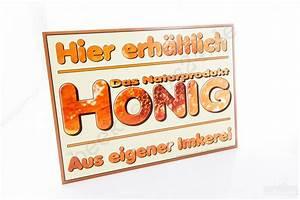 Honig Aus Eigener Imkerei : werbeschild hier erh ltlich honig aus eigener imkerei werbeschilder aufkleber ~ Whattoseeinmadrid.com Haus und Dekorationen