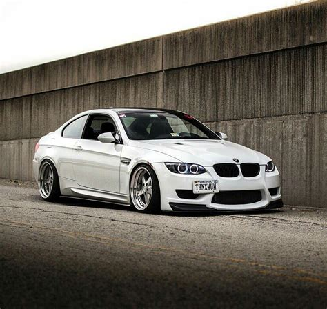bmw 328i slammed bmw e92 m3 white slammed bmw ultimate driving machine
