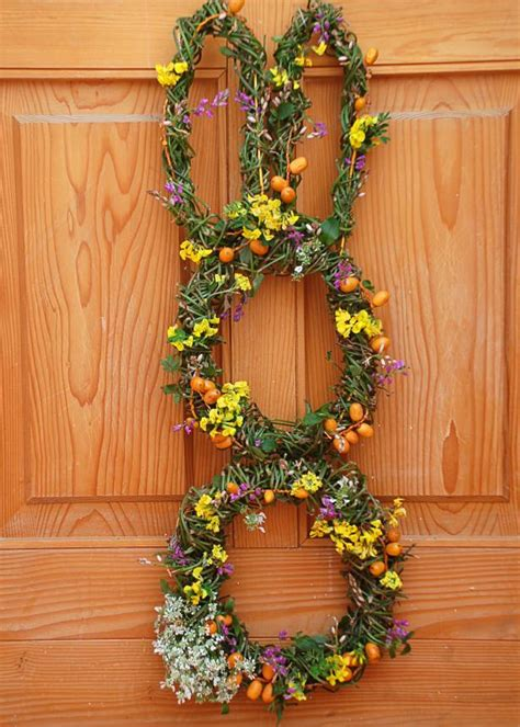 easter bunny wreath hgtv