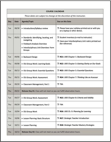 middle school syllabus template how to write a syllabus middle school teachers and school